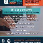 Elecciones 15 y 16 de Mayo en San Javier
