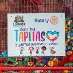 """Linares: Más de 4 toneladas de tapitas recolectó el municipio para donar a las """"Damas de café"""""""