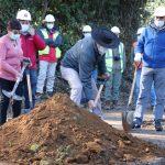 Longaví: Alcalde Menchaca y seremi del Mop colocaron primera piedra en ruta turística precordillerana de la comuna